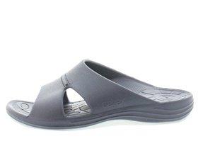 aetrex heren slipper l9002m lynco slides blauw 910001